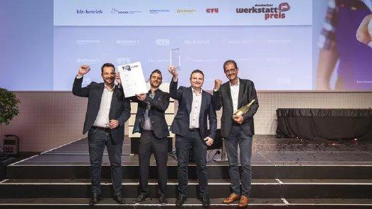 Der diesjährige Sieger des Deutschen Werkstattpreises: Bosch-Car-Service Mezger aus Schweinfurt ist die beste freie Werkstatt Deutschlands 2021, Foto: Stefan Bausewein