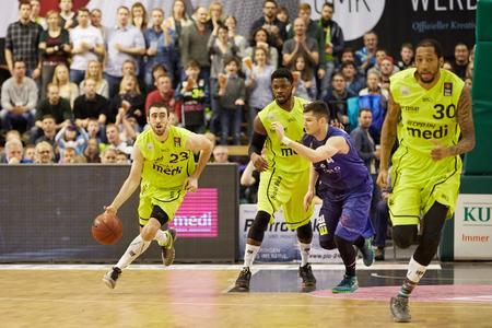 medi bayreuth Basketballer - starke Markenbotschafter für das Unternehmen medi - Hersteller von medizinischen Hilfsmitteln sowie Produkten mit Kompression für Sport und Fashion