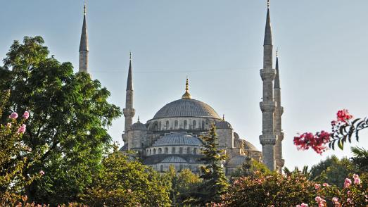 Außenansicht der Hagia Sophia