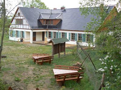 Ort des Arbeitseinsatzes - Nationalpark-Information Blankenförde