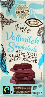 Netto Marken Discount Fair to go Schokolade Vollmilch