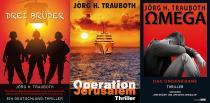 Drei Polit-Thriller von Jörg H. Trauboth