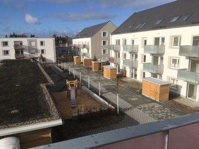 Neubauten in der Neuburger Straße bezogen