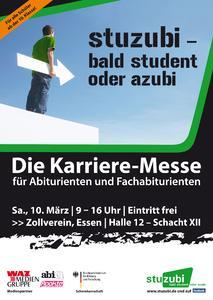 """Karriere-Messe """"Stuzubi - bald Student oder Azubi"""" in Essen"""