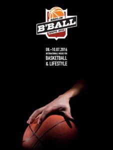 B'BALL EXPO Cover + Logo