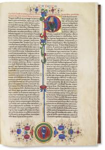 Biblia latina – Fust-Schöffer-Bible / 2 volumes, August 14, 1462 / Estimate: € 1,000,000