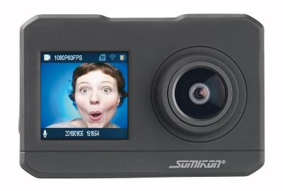 NX 6101  Somikon UHD Action Cam DV 3817 mit 2 Displays. WLAN und Sony Bildsensor /  Copyright: PEARL.GmbH / www.pearl.de