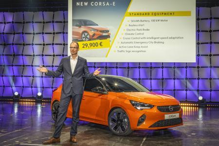 Das Volkselektroauto: Neuer Opel Corsa-e startet ab 29.900 Euro