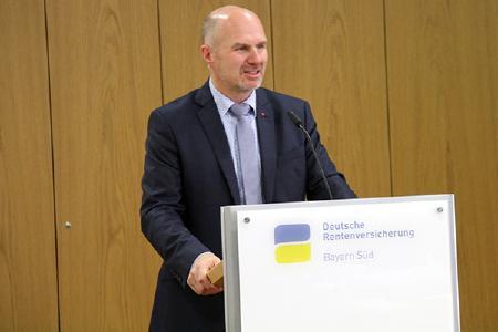 Günter Zellner, Vorsitzender der Vertreterversammlung. Quelle: Deutsche Rentenversicherung Bayern Süd