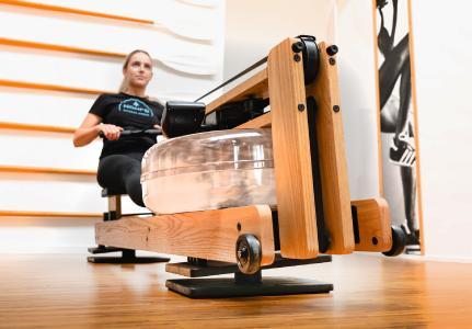 FlowRow Balance-Board Rudern