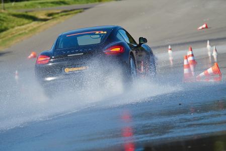 Vorsicht im Regen - Aquaplaning lauert