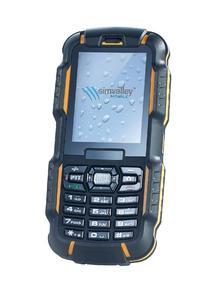 simvalley MOBILE Dual-SIM-Outdoor-Handy und Walkie-Talkie XT-980