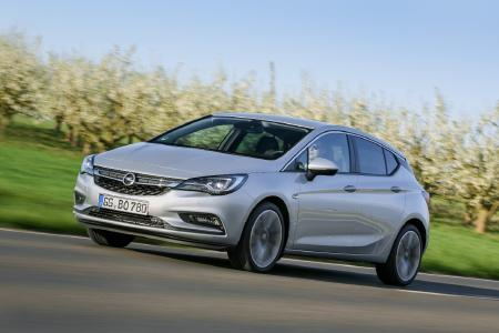 Bestseller: Der Opel Astra wurde im ersten Quartal insgesamt rund 17.000 Mal verkauft – ein Plus von knapp zehn Prozent im Vergleich zum Vorjahreszeitraum