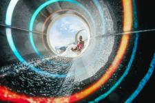 Polin Introduces World's First-Ever Fully Transparent Composites Waterslide