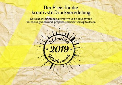 """""""Edelmeister"""" kürt Kreativität mit Digitaldruck"""