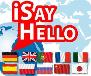 iSayHello Reisewörterbuch App für das iPhone und Android Smartphone