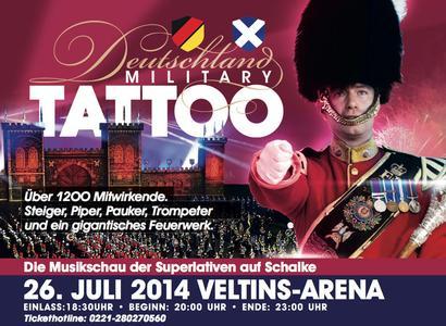 Auch 2014 Deutschland Military Tattoo auf Schalke!