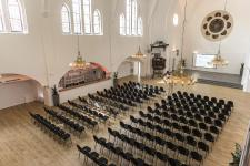 satis&fy in Eventkirche Partner für Eventtechnik