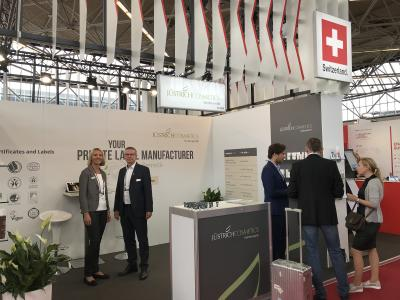 Jüstrich Cosmetics presents innovative skin care products at the PLMA trade fair