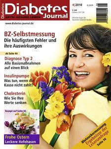 Diabetes-Journal, Cover April-Ausgabe