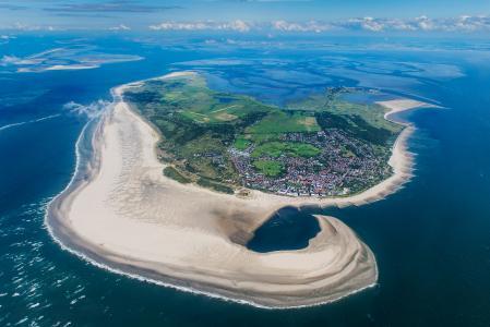Die schönste Insel Deutschlands aus der Luft