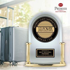 Best Western® Hotels & Resorts führt das Ranking im Upscale Segment in J.D. Power 2019 North America Hotel Guest Satisfaction Study an