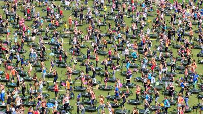 Frankfurt Commerzbank Arena World Fitness Day