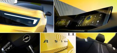 Der erste Blick auf den neuen Opel Astra - einfach elektrisierend