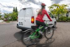 Goodbye Blind Spot: Opel Combo Cargo with New Camera System