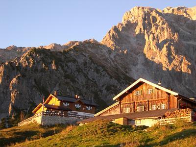 Abendstimmung bei der Erichhütte / Hochkönigs Bergreich