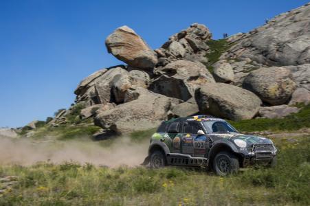 2016 Silk Way Rally - Leg 5 Astana-Balkhash - Yazeed Al Rajhi (KSA), Timo Gottschalk (GER), MINI ALL4 Racing 103 - X-raid Team - 13.07.2016