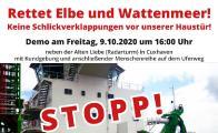 Demo gegen Elbvertiefung am 9. Oktober in Cuxhaven