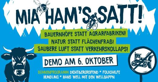 Mia ham's satt!-Demobanner