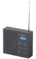 VR-Radio Digitales DAB+/FM-Radio DOR-210 mit Akku, Dual-Wecker, RDS, LCD-Display, Timer