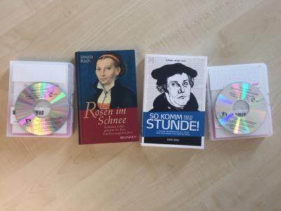 Neue Hörbücher der  Hope Hörbücherei; Credt: A.J. Thäder