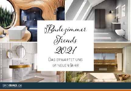 Trends 2021 für Ihr Badezimmer von Skybad
