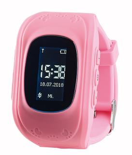 NX 4509  TrackerID Kinder Smartwatch PW 110.kids mit Telefon und SOS Funktion. rosa / Copyright: PEARL.GmbH / www.pearl.de