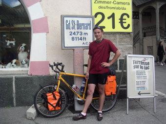 2473 m - der höhste Punkt der Tour
