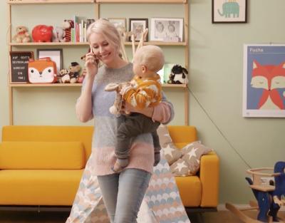 Mutter während der Beratung © Kinderheldin GmbH