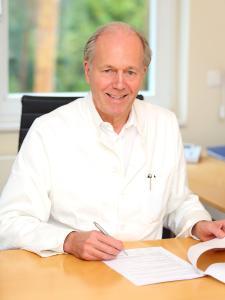 Prof. Dr. med. Dietrich Andresen, Vorstandsvorsitzender der Deutschen Herzstiftung / K ardiolo ge, Ev. Hubertus-Krankenhaus in Berlin / Foto: Manuel Tennert