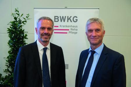 Gemeinsam im Vorstand der BWKG: Wolfgang Schmid (li.) und Bernhard Wehde (re.), Foto: BWKG/KD Busch