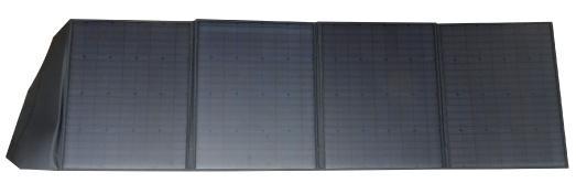 revolt Mobiles, faltbares Solarpanel, 4 monokristalline Solarzellen, 200 Watt