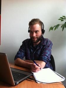 ebam-Teilnehmer am Online.Kurs