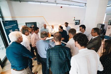 Die zeeMobase auf dem EUREF Campus ist ein Showroom für Micro Smart Grid Lösungen