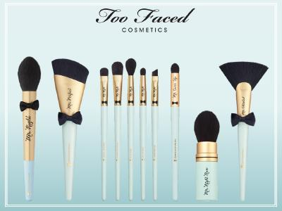 Too Faced vegane Pinsel: Mr. Right, Mr. Perfect, Mr. Right 5 Piece Set, Mr. Cover-Up, Mr. Right Now & Mr. Chiseled