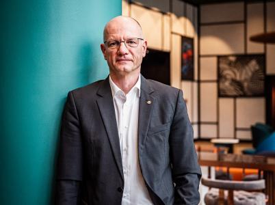 Alf Reuter, Präsident des Bundesinnungsverbandes für Orthopädie-Technik, Foto: Marcus Zumbansen
