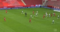 Bandenwerbung für das Weserbergland in der der Fußball-Bundesliga