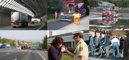 Aufgaben und Forschungsschwerpunkte der Bundesaltalt für Straßenwesen in den Jahren 2011 und 2012 dargestellt anhand einer Auswahl von 33 Fachbeiträgen (Fotos:BASt)