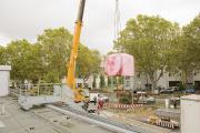 Das Städtische Klinikum Karlsruhe nimmt in Zusammenarbeit mit Siemens Healthineers erneut einen neuen hochmodernen Magnetresonanztomographen in Betrieb, Bild: Markus Kümmerle