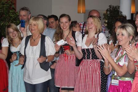 Viel Spaß gab es für die Franchisepartner von alltours Reisecenter bei der Gipfelstürmer-Party